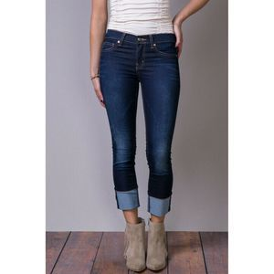 Henry & Belle  Adriatic Cropped  Jeans Blue 28